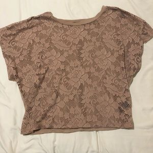 Flower lace forever 21 top